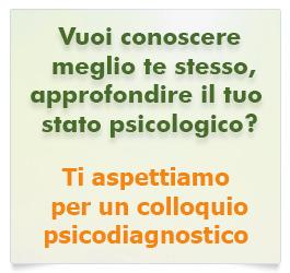 Vuoi conoscere meglio te stesso o approfondire il tuo stato psicologico? Ti aspettiamo per un colloquio psicodiagnostico